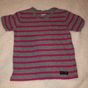 girls tee with pocket